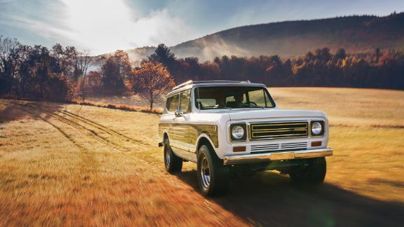 The Interenational Harvester Scout was Harvester's last passenger vehicle model.