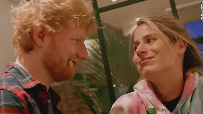 "Ed Sheeran and Cherry Seaborn appeared together in the video for his single ""Put It All On Me (feat. Ella Mai)."""