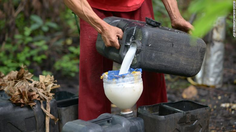 Lambanog, is distilled from coconut sap and has an alcohol content of 40% to 45% by volume.