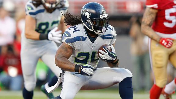 Marshawn Lynch is back with the Seattle Seahawks.