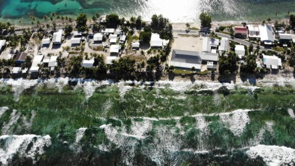 Thelow-lyingSouth Pacific island nationof Tuvalu has been classified as 'extremely vulnerable' to climate change by theUnited Nations Development Programme.