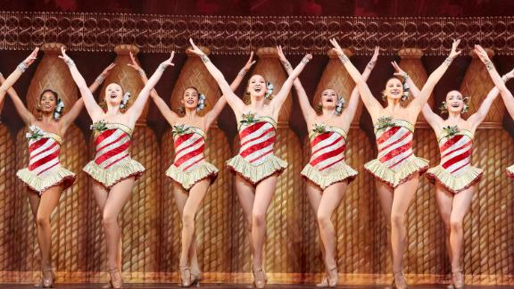 Sydney Mesher, center stage, is the first visibly disabled dancer to perform in the Radio City Rockettes starting in the 2019 holiday season.
