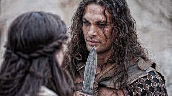 """""""Conan The Barbarian"""": Jason Momoa stars in this semi-remake of the 1982 film starring Arnold Schwarzenegger. In this one, Conan goes adventuring across the continent of Hyboria on a quest to avenge the murder of his father and the slaughter of his village. (Amazon Prime, Hulu)"""