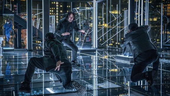"""""""John Wick: Chapter 3 - Parabellum"""": Keanu Reeves is back as super-assassin John Wick. This time he"""