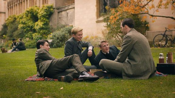 """""""Tolkien"""": Nicholas Hoult stars as legendary author J.R.R. Tolkien in this drama that explores his formative years as he finds friendship, love and artistic inspiration among a group of fellow outcasts at school. (HBO Now)"""