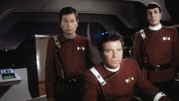 """""""Star Trek II: The Wrath of Khan"""": Admiral Kirk"""