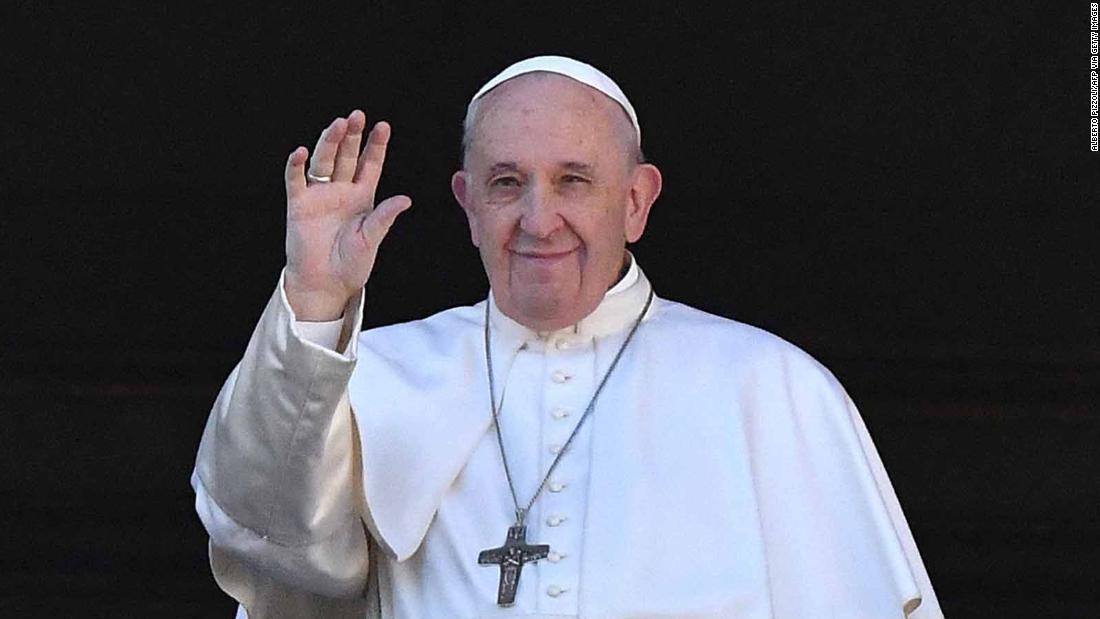 Papst appelliert für Frieden in Christmas Day Nachricht