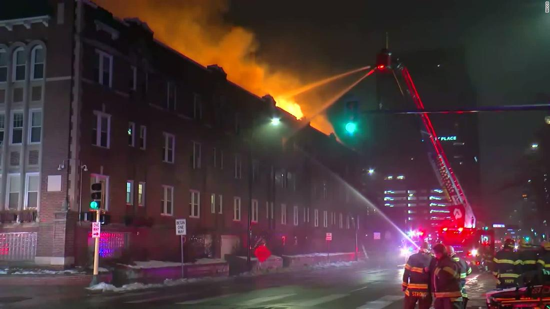 Four-alarm blaze at Minneapolis' Drake Hotel forces more than 200 low-income residents to evacuate