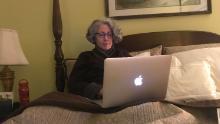 Même depuis son lit, Cindy a constamment fait campagne pour des recherches médicales qui pourraient un jour soulager sa douleur constante.