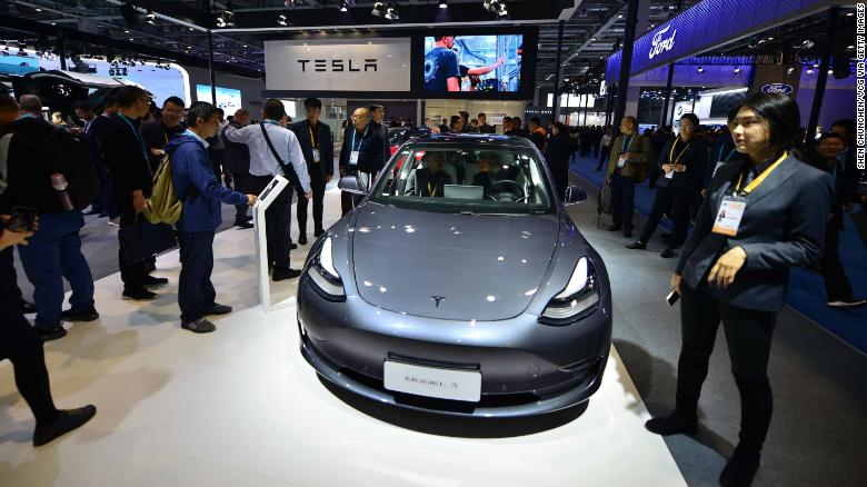 Image result for tesla model 3 s employees china