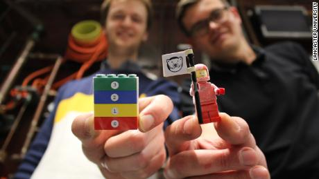Frozen LEGO bricks lead to huge discovery