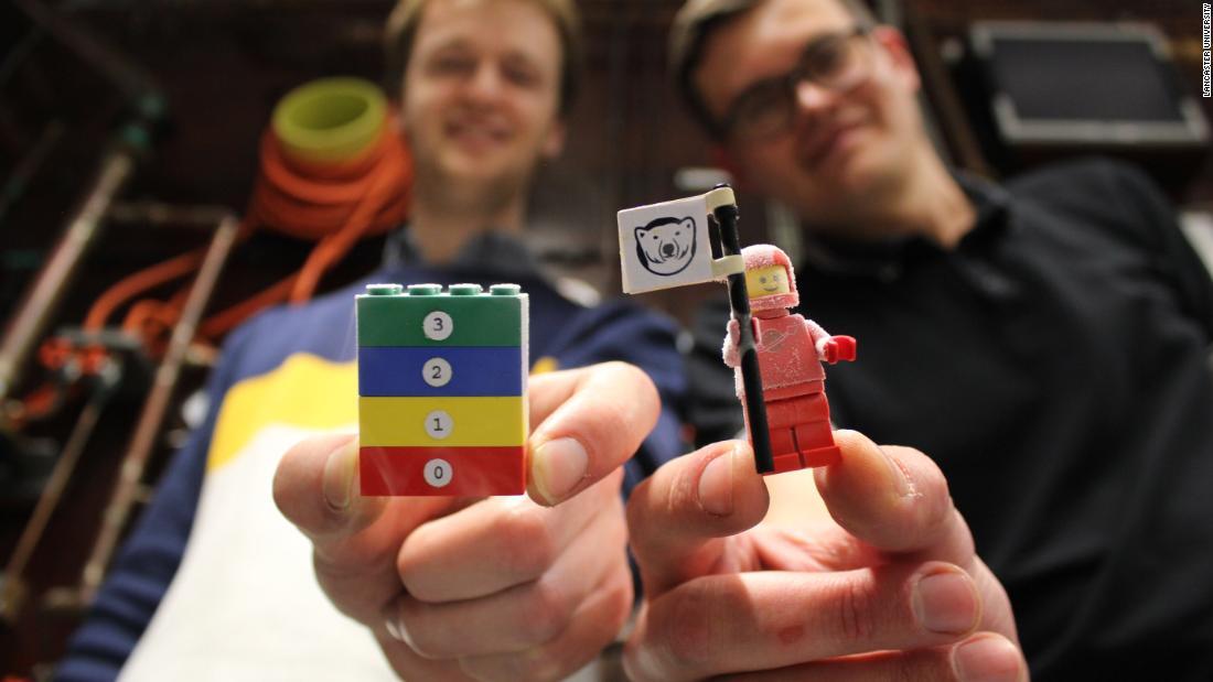 Frozen LEGO-Steine, führen zu großen Entdeckung