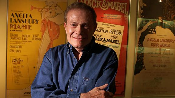 """Jerry Herman, a famed Broadway composer whose musicals include """"Hello, Dolly!"""" and """"Mame,"""" has died at 88."""