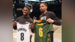 Siya Kolisi: Le capitaine vainqueur de la Coupe du monde regarde les Brooklyn Nets égaler un record de 69 ans. Et ce n'est pas un bon