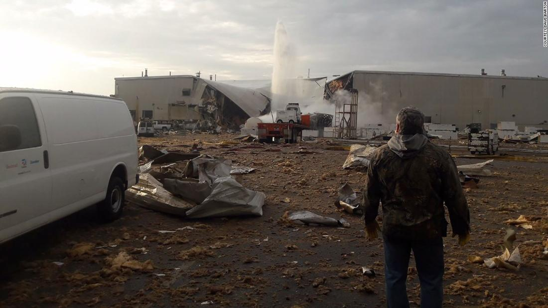 Multiple people were injured in an explosion at a Kansas aviation manufacturing plant