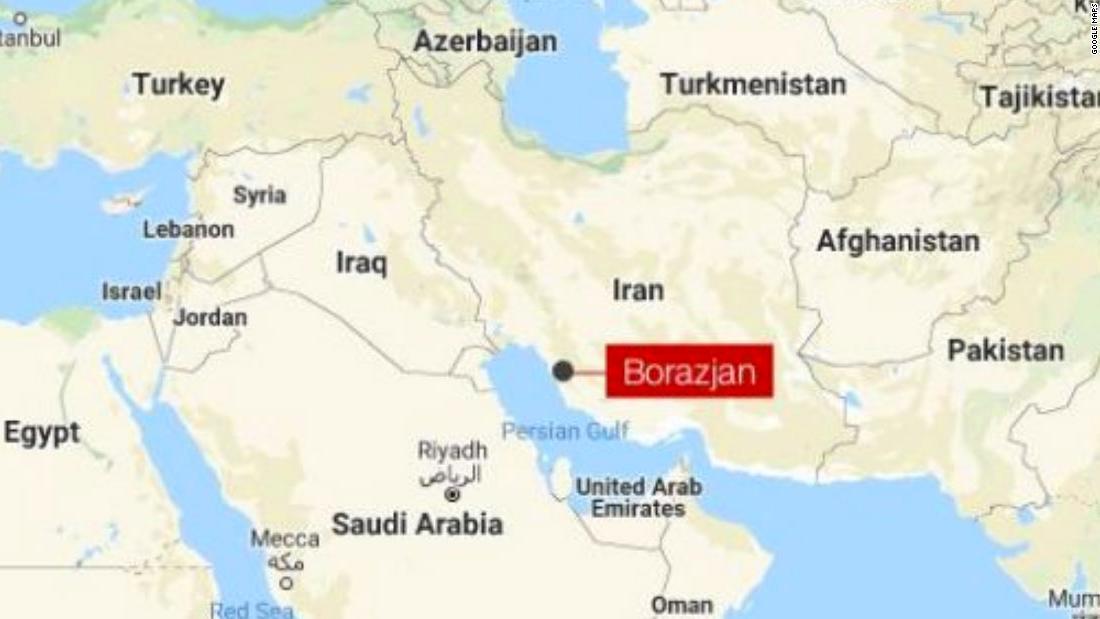 二つの地震のストライクの近くのイランの核工場