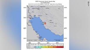 Magnitude 5.1 earthquake strikes Iran near nuclear power plant