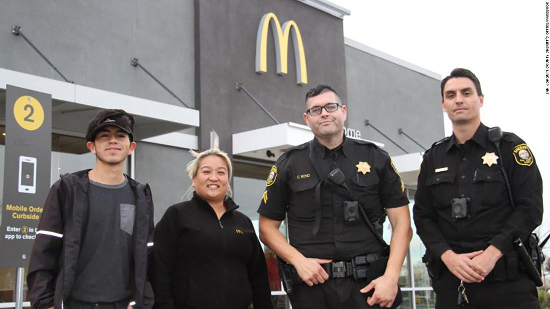 McDonald's employees assist woman who mouths 'help me' in the drive thru