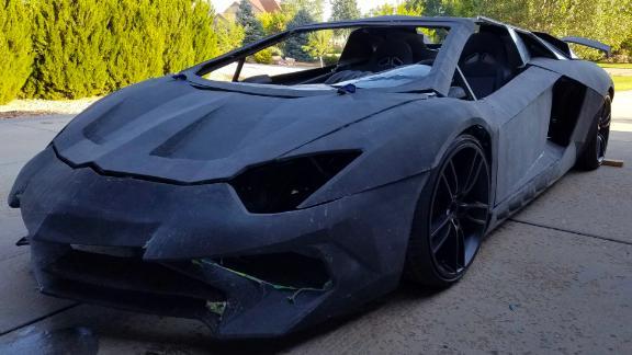 An actual Lamborghini Aventador costs nearly $500,000.