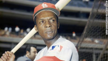Curt Flood played for the St. Louis Cardinals from 1958-1969.
