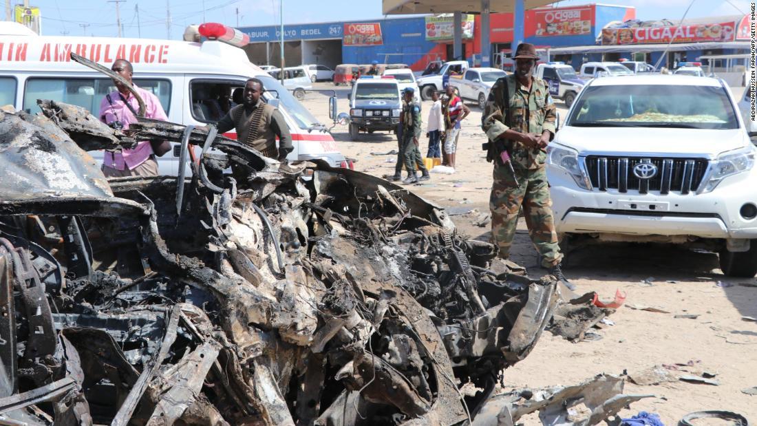 Somalia Selbstmord Autobombe Angriff tötet mindestens 78