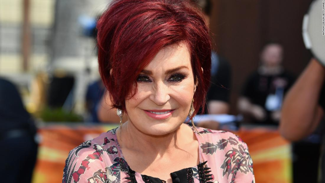 Sharon Osbourne rocks dramatic white hair transformation
