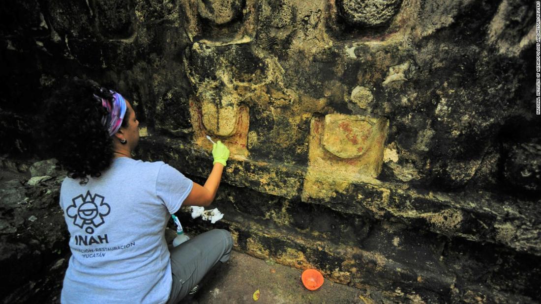 Οι αρχαιολόγοι βρίσκονται τα ερείπια της μια αρχαία Mayan palace
