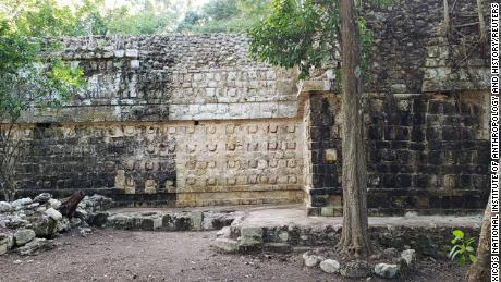 A  large palace, a temple and other structures were discovered in the Mexican state of Yucatan.