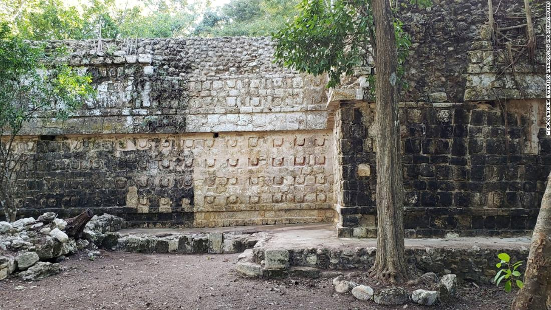 Archeologists in Mexico discovered the ruins of an ancient Mayan palace
