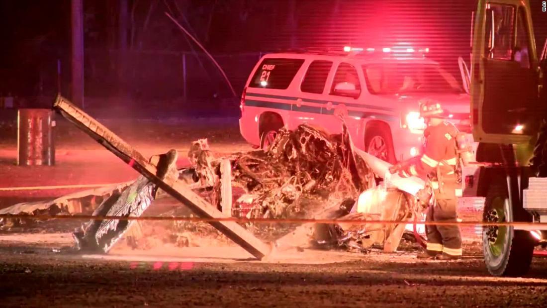 Τέσσερις τραυματίες μετά από συντριβές αεροπλάνων έξω από Asheville Regional Airport