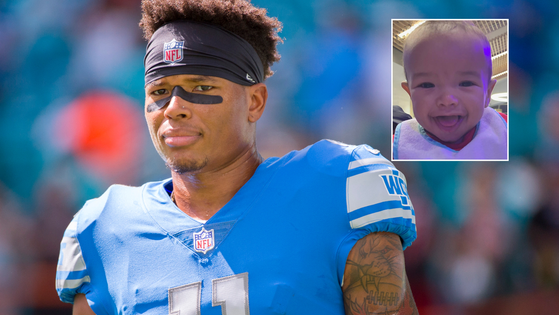 Marvin Jones Jr.'s young son Marlo died on Friday, the wide receiver said.