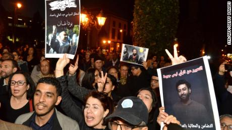 Some Moroccans have taken to the streets over the last several days in support of Omar Radi, a Moroccan journalist detained over a tweet criticizing a judge.