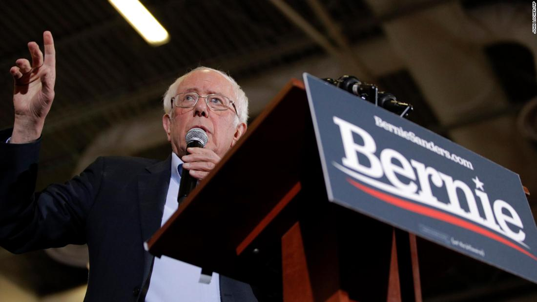 Bernie Sanders hols in einem der größten vierteljährlichen Summen dieser Wahl Zyklus