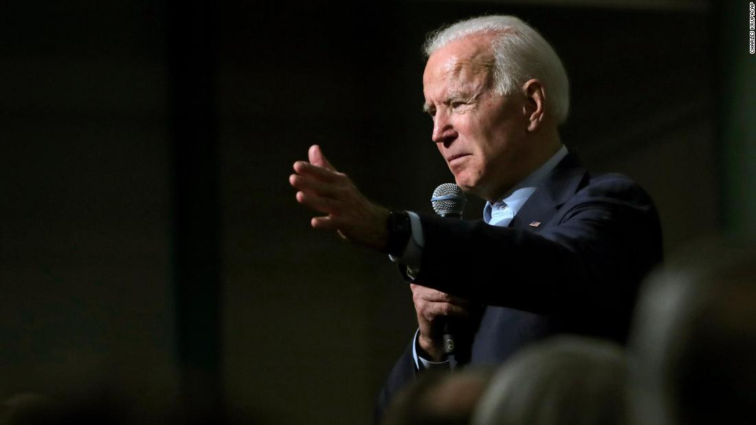 Bidenのレトルトにheckler描拍手