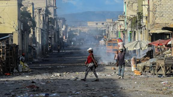 Food insecurity is a major problem in Port-au-Prince and other sections of Haiti.