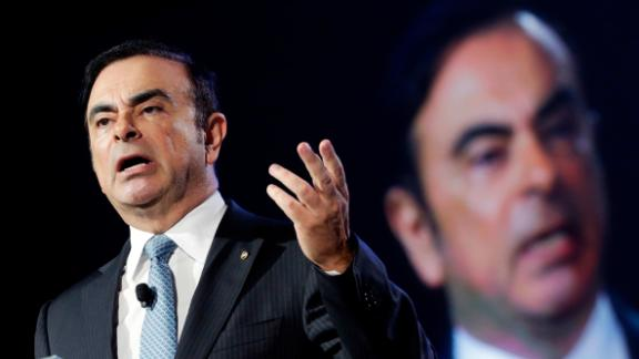 Carlos Ghosn at the New York International Auto Show in 2016.