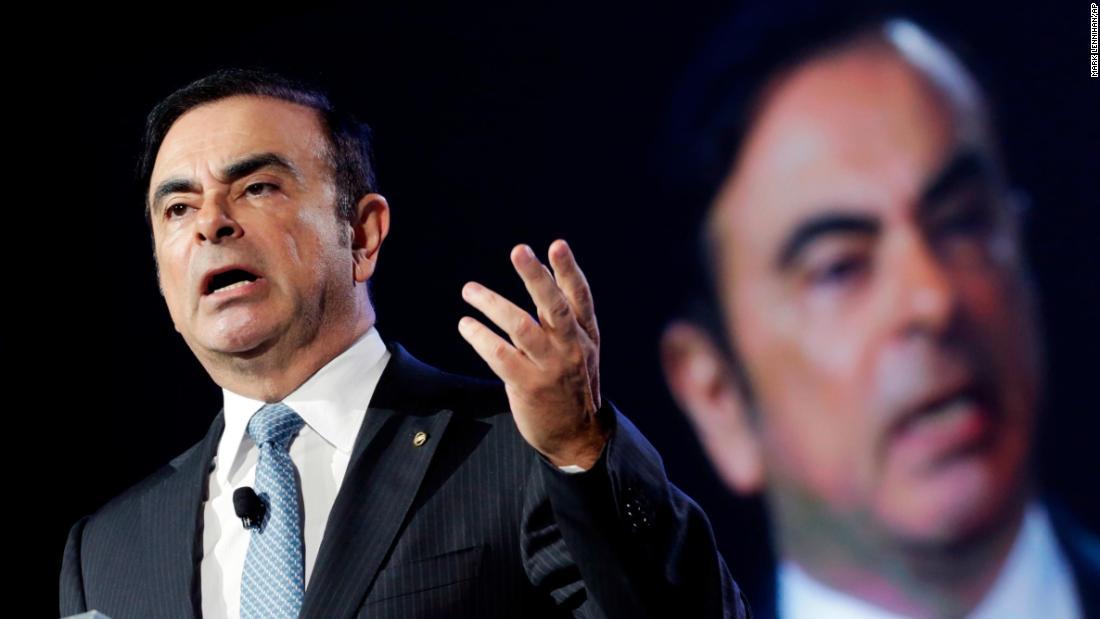 Carlos Ghosn να κάνει την πρώτη σημαντική δημόσια εμφάνισή του μετά την διαφυγή της Ιαπωνίας