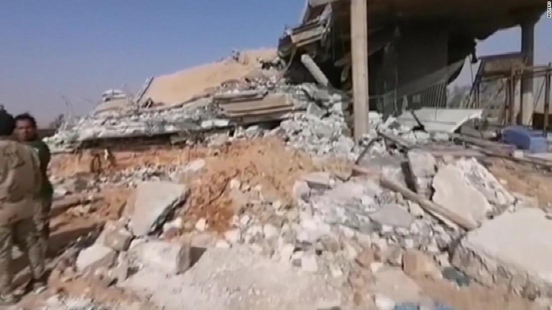イラクが求空爆'a刺しに戻る