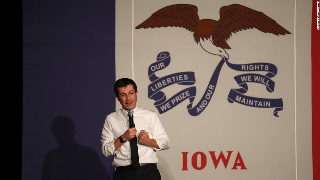Pete Buttigieg picks up the pace in Iowa as impeachment keeps others away
