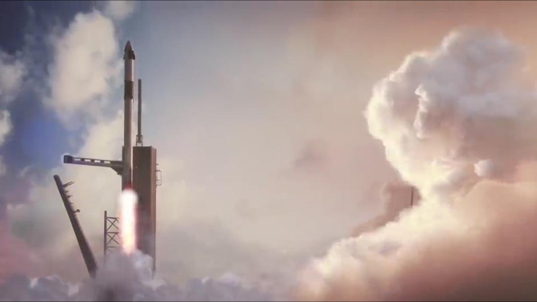 SpaceXのクルードラゴンが完了最後の試験の前に最初の宇宙飛行士の使命