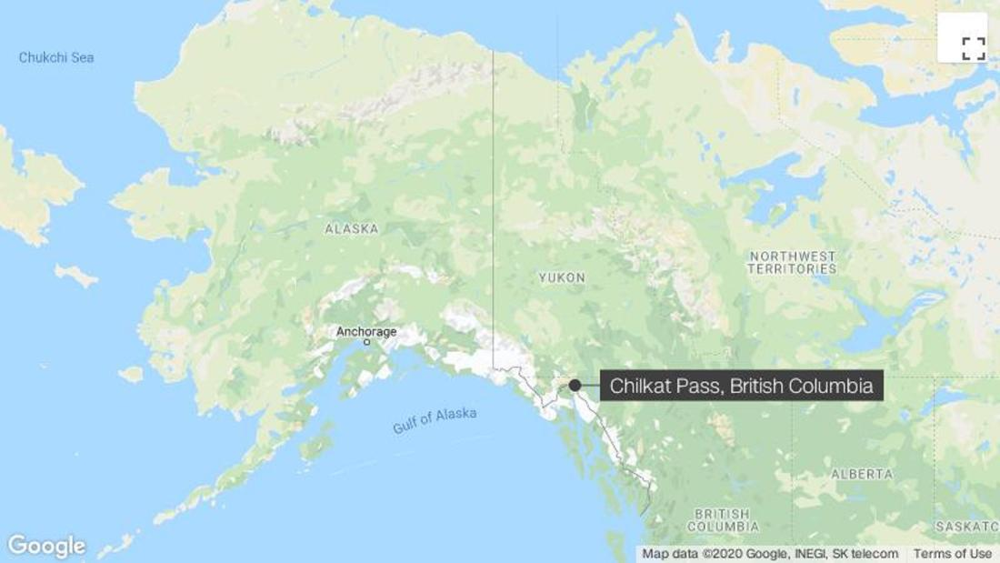 二Alaskanスキーヤーが殺害された雪崩にブリティッシュコロンビア
