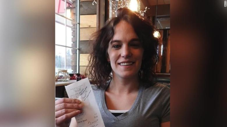 A Waitress Got A 2 020 Tip On A 23 Meal As Part Of The 2020 Tip