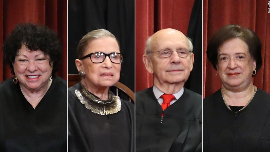 Supreme Court's liberals prepare for a spring of dissent