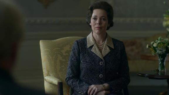 "Best actress in a television series — drama: Olivia Colman, ""The Crown"""