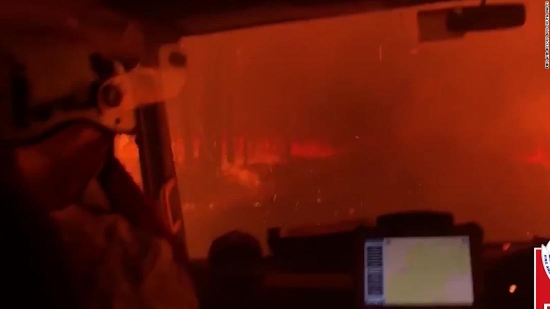 Fire crews' life-or-death moments caught on video