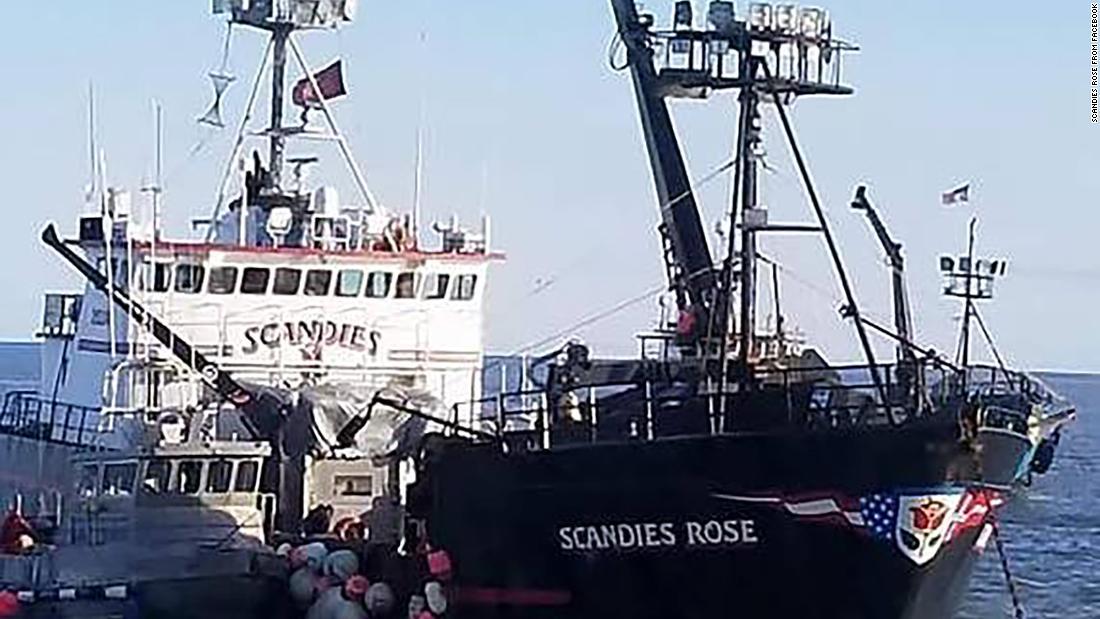 海上保安部を停止検索欠Alaskanカニボートの乗組員