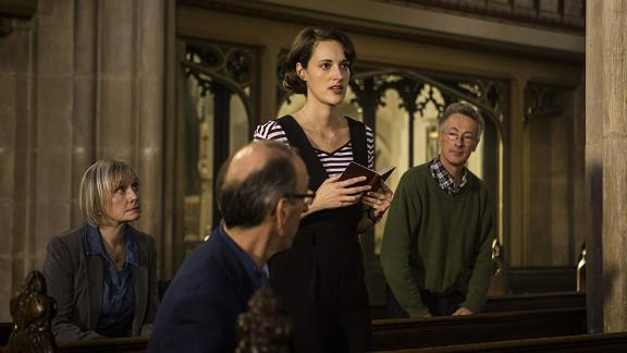 "Best television series — musical or comedy: ""Fleabag"""