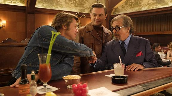 "Best motion picture — musical or comedy: ""Once Upon a Time in Hollywood"""