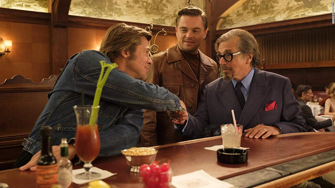 "<strong>Best motion picture — musical or comedy: </strong>""Once Upon a Time in Hollywood"""