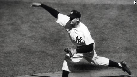 Image result for baseball pitcher don larsen